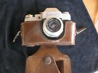 Vintage film camera The Zenit 3m, Зенит 3m+Industar - 50, Russian camera