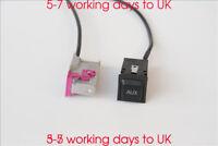 AUX Socket Jack adaptar 32-pin cable for Audi A8 TT R8 A3 A4 A6 Navigation RNS-E