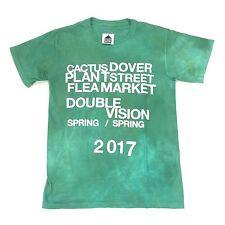NWT Cactus Plant Flea Market DSM Double Vision Green Tie Dye T-Shirt S AUTHENTIC