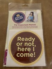 Sticky Bellies Maternity Stickers for Weekly Baby Bump Photos - Oh Sew Ready,New