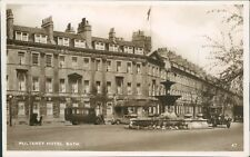 Pluteney Hotel Bath Excel Series Real Photo unposted somerset