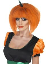 Parrucca Donna Halloween carnevale Zucca caschetto *11846 Smiffys party