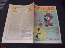 """ALBO D'ORO N.21 EDIZIONE 1946 TOPOLINO AGENTE DELLA POLIZIA SEGRETA  EDICOLA """"M"""""""