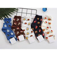 Cookies Printed Socks Kawaii Women Summer Boat Socks Casual Cotton Funny Soc CR