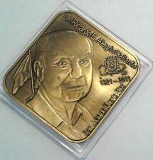 Homenaje RICARDO ALEGRIA 1911-2011 BRONCE Cultura PUERTO RICO 1/50 DIAMOND 65mm