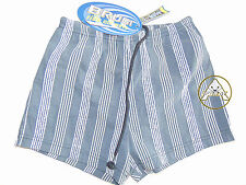 Vintage 90 BRUGI Boxer S JUNIOR (XXS) Shorts Costume Beach Bambino Kid Grigio