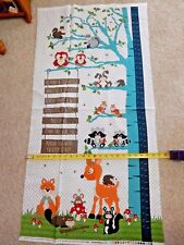 To Be or Not To Be cotton PANEL Fabric 24X44 Growing Chart by Henry Glass 8808P