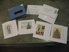 Ronald Reagan White House Xmas Cards Christmas Set 1988 COMPLETE & UNUSED!!