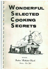 * PAVILION NY ANTIQUE METHODIST CHURCH COOK BOOK * LOCAL ADS * WONDERFUL SECRETS