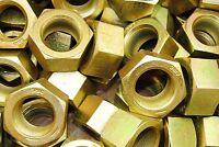 (6) 1-1/2-12 Hex Finish Nuts Grade 8 Yellow Zinc Plated 1-1/2 -12 Fine Thread
