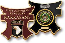 187th Infantry Regiment Rakkasans Challenge Coin Fort Campbell KY 101st Airborne