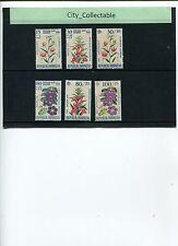 FLOWERS - 1966 INDONESIA 6V # 297