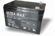 12V 12AH Batteria Auto Elettrica - Peg Perego Injusa John Deere, Caterpillar