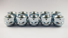 Set of 10 x Extra Short Spacer Nuts M12 x 1.25, 19mm Hex Open
