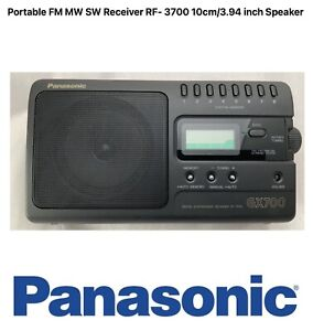 Panasonic Radio FM MW SW RF-3700 GX700 Portable Receiver 10cm/3.94 Inch Speaker