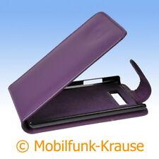 Flip Case Etui Handytasche Tasche Hülle f. LG P700 Optimus L7 (Violett)