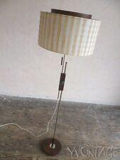 Exklusive Palisander Stehlampe Lampe Leuchte Floor Lamp 60er 60s