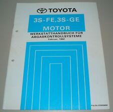 Werkstatthandbuch 3S-FE 3S-GE Motor Toyota Carina III Abgaskontrollsystem 1992!