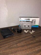 Panasonic Mini Cassette Recorder Rq-356 With Original Box