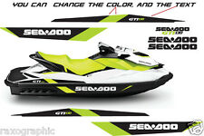 SEADOO GTI REPLACEMENT GRAPHIC KIT SEA DOO HULL DECAL BOAT GTX STICKERS