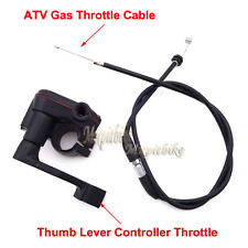 Control Thumb Throttle Housing Cable For 50cc 70 90 110cc 125cc Chinese ATV Quad