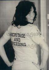 1973 Actress Linda Lovelace Press Photo