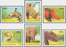 Timbres Animaux Guinée 1111/6 ** lot 26840