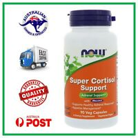 Super Cortisol Support 90 Veg Caps by NOW Foods - Adrenal & Stress Support #90