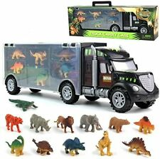Hoang 35482 Toy Cars Play Set with 12 Animals 19