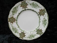 Vintage New Wharf Pottery Green Floral -Milan - Dessert Plate
