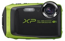 Fujifilm FinePix XP90 Green Waterproof digital camera (Black/Lime) - NEW™