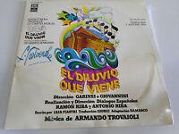 """EL DILUVIO QUE VIENE OST BSO 2 X LP VINYL VINILO 12"""" ARMANDO TROVAIOLI G+/VG GAT"""