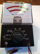 Micronta Battery Tester No. 22-031 - Original Box and Instructions - It Works!