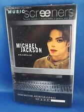 "MICHAEL JACKSON CHILDHOOD MUSIC SCREENERS 1995 SONY VIDEO GAME 3.5"" DISKETTE"