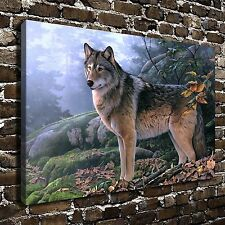 HD Canvas Print Paintings Animals Wolf Home Decor Wall Art Pictures Posters