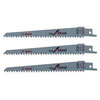 Bosch KEO / Florabest Cordless Garden Saw Blades for WOOD Pruning  3 x S644D