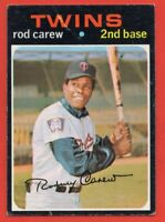 1971 Topps #210 Rod Carew VG CREASE Hall of Fame Minnesota Twins FREE SHIPPING