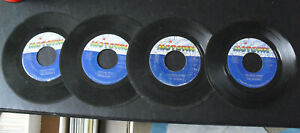 Lot of 4 Motown Jackson 5 45 RPM Records I'll Be There Darling Dear