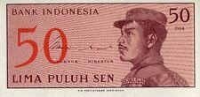 Indonesia 1964, 50 Sen (UNC)