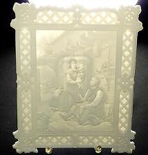 PMP SCHIERHOLZ PLAUE - Porzellanbild LITHOPHANIE Porzellanplatte Bild Thüringen
