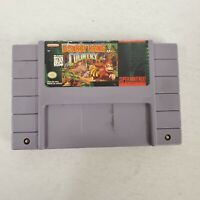 Donkey Kong Country Super Nintendo SNES Game Tested & Working! Authentic! Cart.