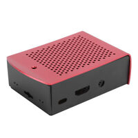 Metal Motherboard Shell Aluminum Alloy Case Motherboard for Raspberry Pi Red JJS