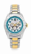 AFL Port Adelaide Power Establishment Series Two Tone Gents Watch FREE SHIPPING