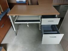 Hon 3400 Series Small Office Desk Withkey 4525 X 24 X 295 Harvestputty
