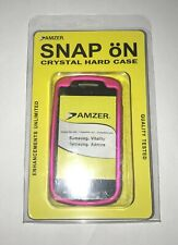 Amzer Rubberized Snap-On Crystal Hard Case For Smasung Admire/Vitality Hot Pink