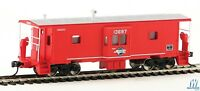 HO Scale - WALTHERS Mainline 910-8656 MISSOURI PACIFIC Inter. Bay Window Caboose