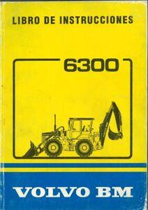 Libro instrucciones Manual operador Volvo BM 6300 REF-3326696492