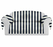 CHC-Beverly Hills Sati Spring Decorative Sofa/Couch Covers Collection Navy/White