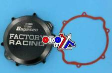 CRF450X 05-18 BOYESEN FACTORY CLUTCH COVER SILVER/BLACK CRF 450 X