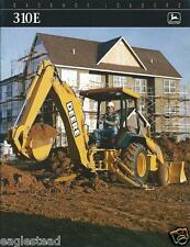 Equipment Brochure - John Deere - 310E - Loader Backhoe - c1998 (E2367)